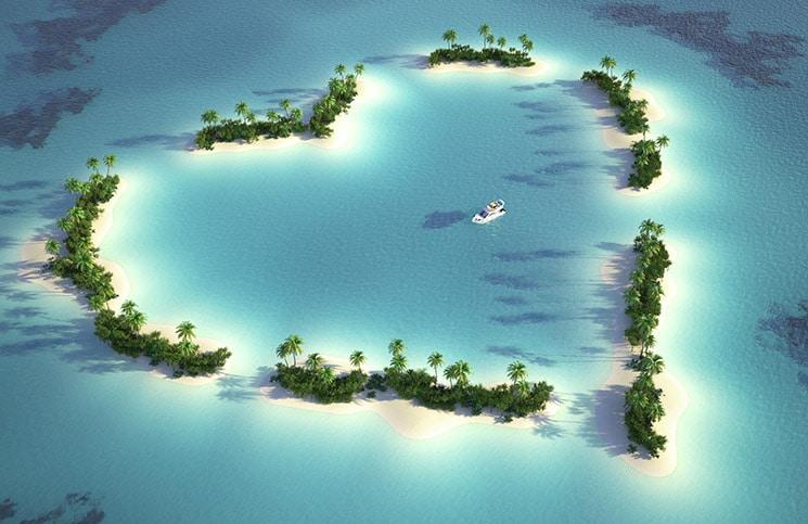 Tem Na Web - 5 ilhas para uma viagem romântica dos sonhos