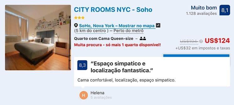 Hotéis por menos de 150 dolares em Nova York 4