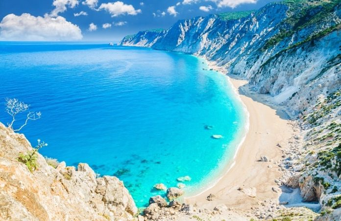 Ilha de Cefalonia Grécia