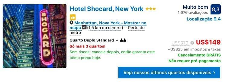 Hotéis por menos de 150 dolares em Nova York 6