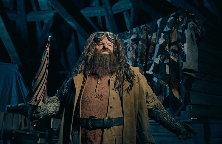 Nova montanha russa The wizarding World of Harry Potter