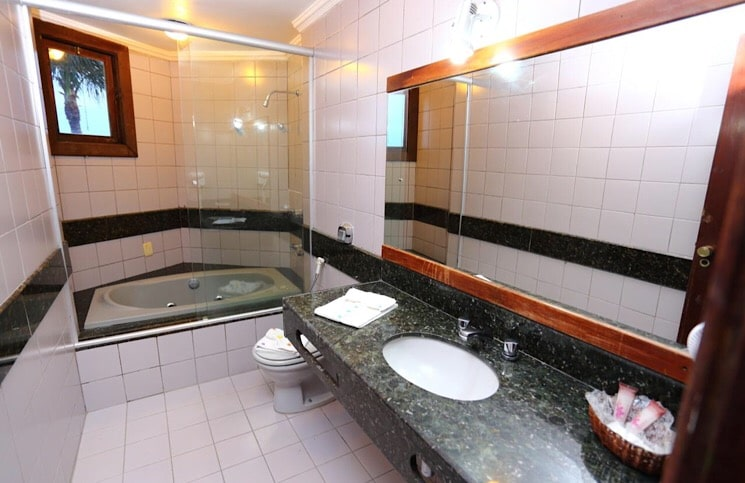 Banheiro Suíte Family Porto Seguro eco Bahia