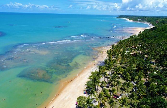 Praia do Espelho, Trancoso, Bahia