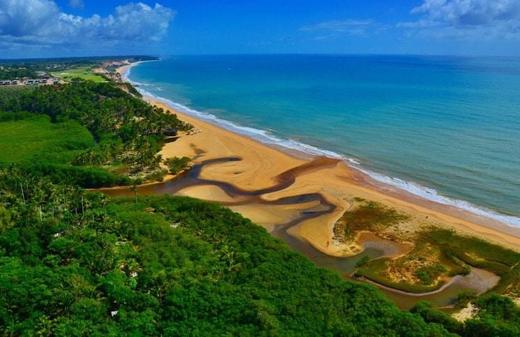 Praia do Rio da Parra Trancoso