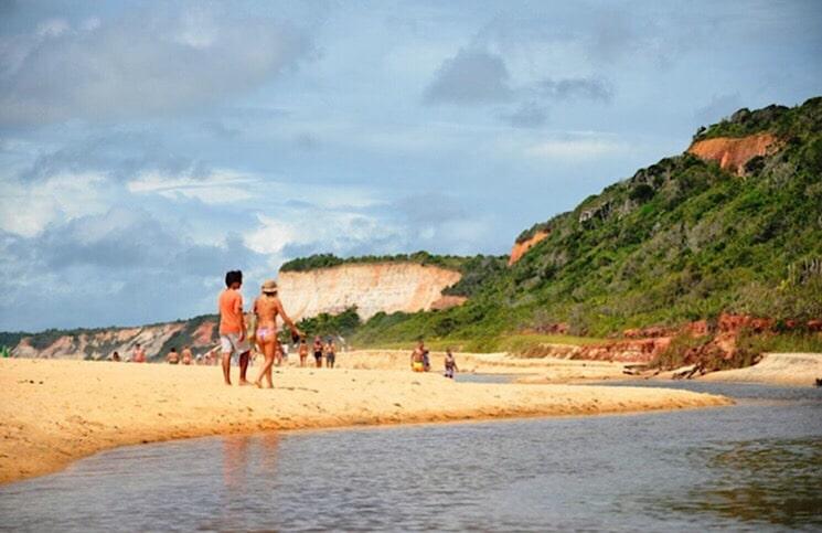Praia de Taipe Arraial d'Ajuda