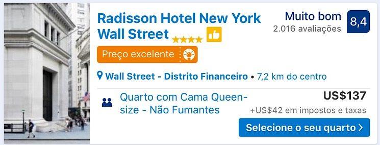 Radisson Hotel Nova York