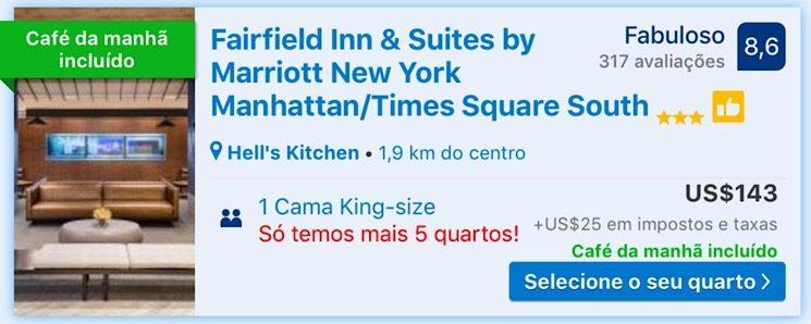 Fairfield Inn & suites Nova York