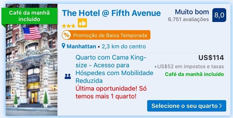 The Hotel @ Nova York