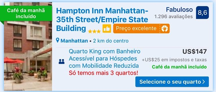 Hampton Inn Nova York