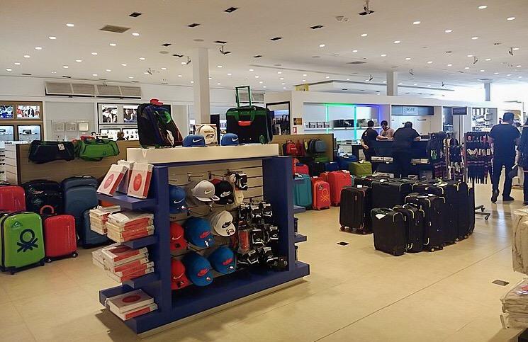 Valor limite para compras no free shop vai aumentar