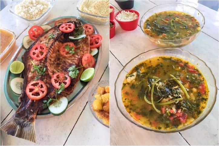 Almoço ilha do Combú