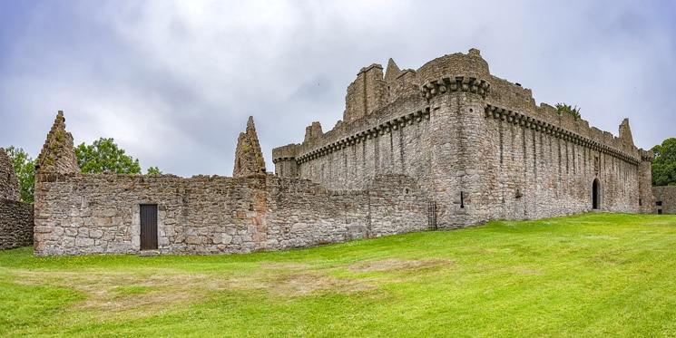Craigmillar Castle Panorama