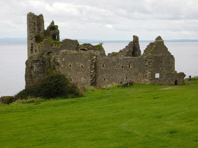 Dunure Castle Ruins