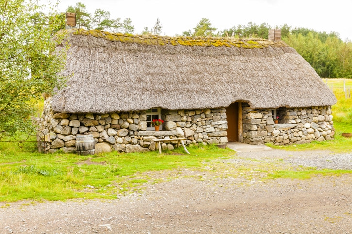 highland folk museum scotland reconstruction